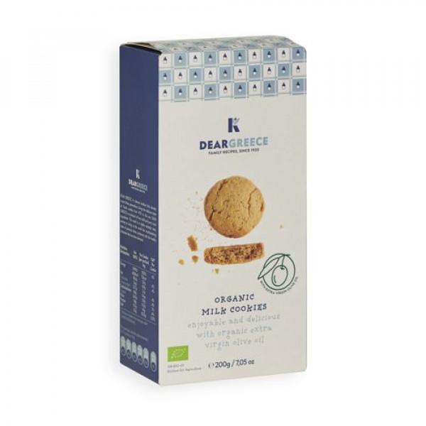 Βιολογικά μπισκότα γάλακτος