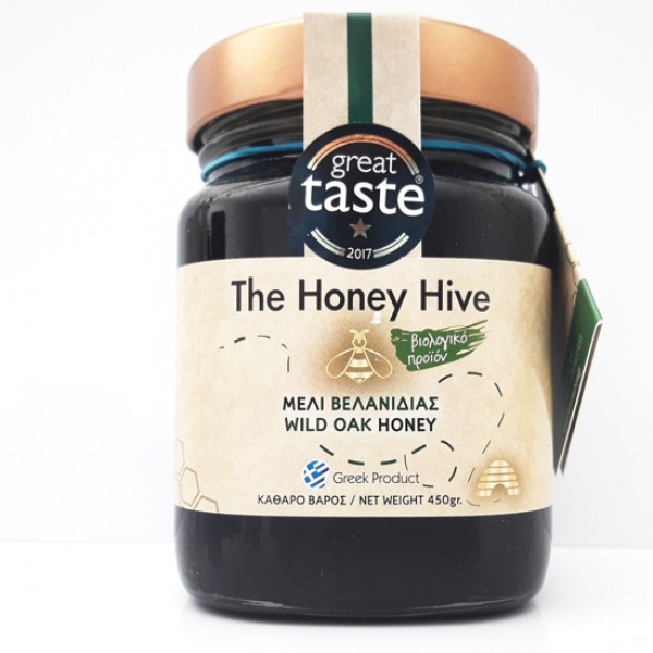 Μέλι βελανιδιάς βιολογικό Honey hive