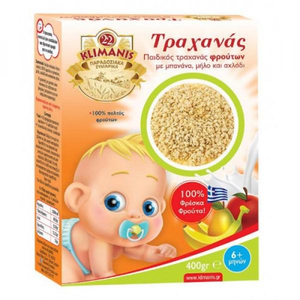 Παιδικός Τραχανάς με φρούτα & κατσικίσιο γάλα