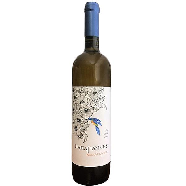 Οίνος λευκός Μαλαγουζιά Παπαγιάννη
