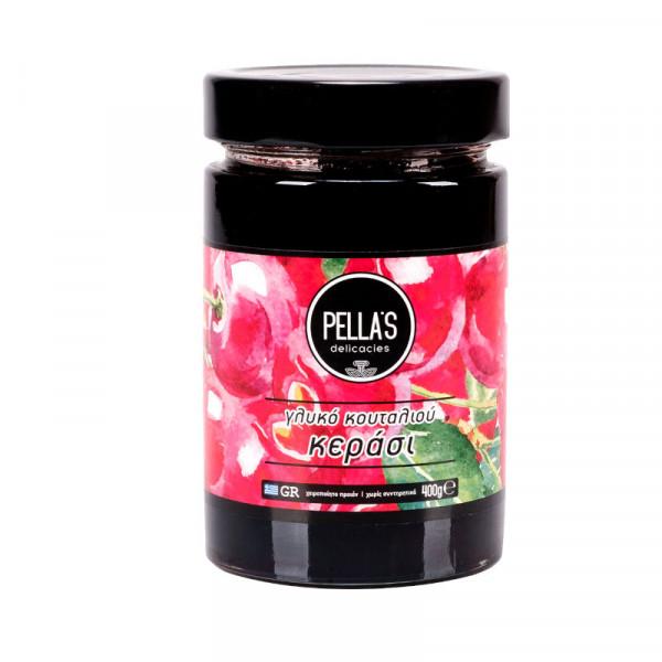 Γλυκό κουταλιού κεράσι Πέλλας
