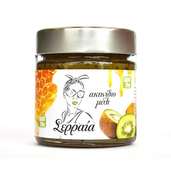 Μαρμελάδα ακτινίδιο με μέλι χωρίς ζάχαρη
