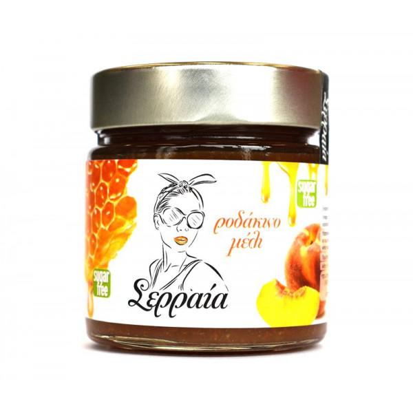 Μαρμελάδα ροδάκινο με μέλι χωρίς ζάχαρη