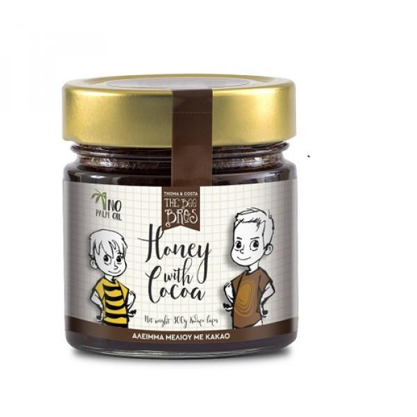 Άλειμμα με μέλι και κακάο χωρίς γλουτένη