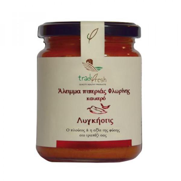 Άλειμμα Πιπεριάς Φλωρίνης με καυτερή πιπεριά
